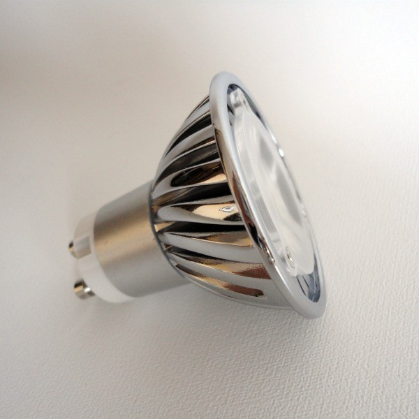 AMPOLLETA LED GU10 4W 220V LUZ CALIDA