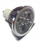 AMPOLLETA LED GU10 4x1W 220V LUZ CALIDA